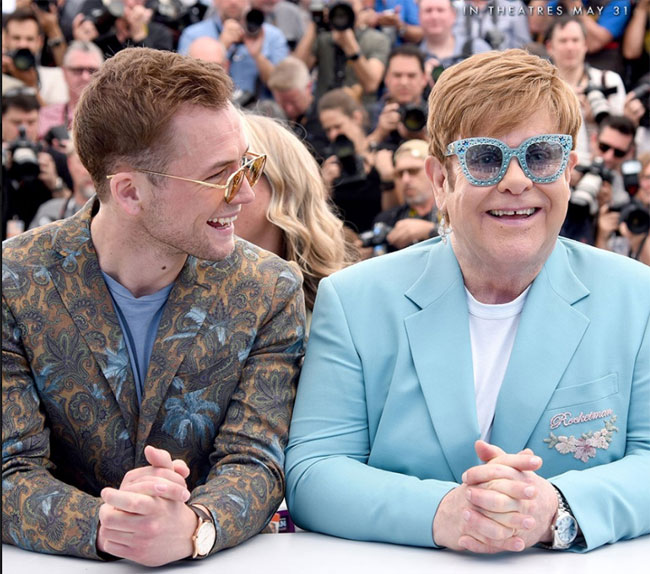 (I'm Gonna) Love Me Again' Elton John e Taron Egerton nelle radio