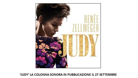 JUDY LA COLONNA SONORA IN PUBBLICAZIONE IL 27 SETTEMBRE