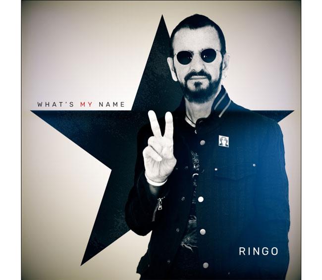 """RINGO STARR """"WHAT'S MY NAME"""" in uscita il 25 ottobre 2019"""