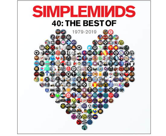 SIMPLE MINDS 40: THE BEST OF  1979 - 2019 fuori il 31 ottobre 2019
