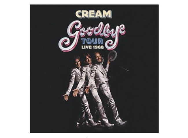Universal Music pubblica GOODBYE TOUR – LIVE 1968 special edition dei CREAM