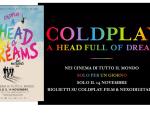 foto COLDPLAY : il film evento A HEAD FULL OF DREAMS nelle sale il 14 novembre