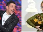 foto GABBANI e ADELE Sanremo come i Grammys 2017