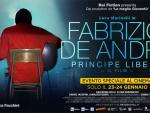 foto FABRIZIO DE ANDRE : Principe Libero al cinema a gennaio