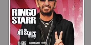 RINGO STARR IN ITALIA A LUGLIO!