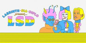 LABRINTH SIA DIPLO PRESENT LSD OUT 12 APRILE 2019