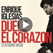 singolo Enrique Iglesias DUELE EL CORAZON (feat. Wisin)